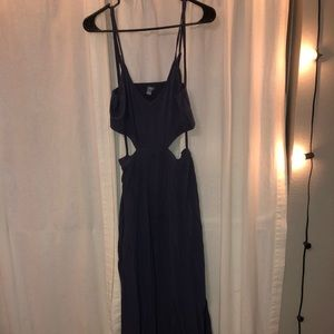 Aerie maxi dress with cutouts